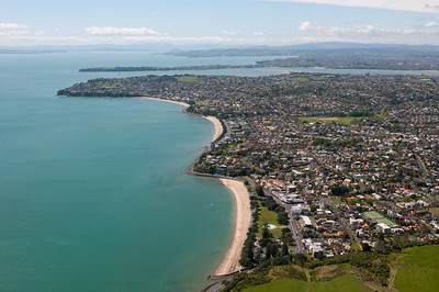 Aerial photo of Auckland, New Zealand