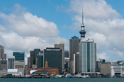Auckland Harbor Yachting in New Zealand