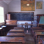 School Room at Museum of Transport and Technology (MOTAT) – Auckland, New Zealand – Daily Photo