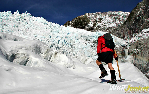 Heli-hiking Franz Josef Glacier