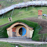 Hobbit Hole at Hobbiton Movie Set – Matamata, New Zealand – Photo