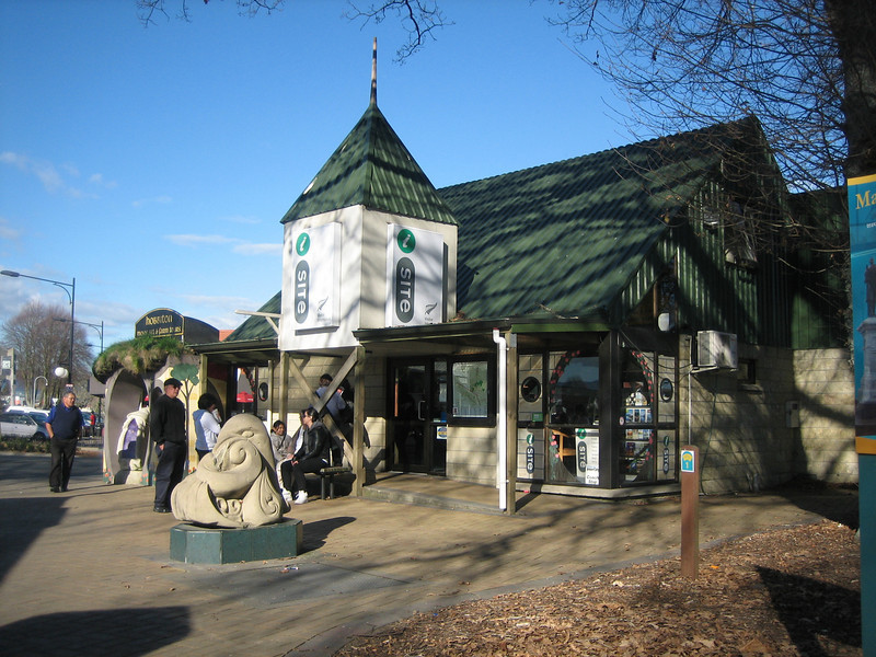 Visitor's information in Matamata