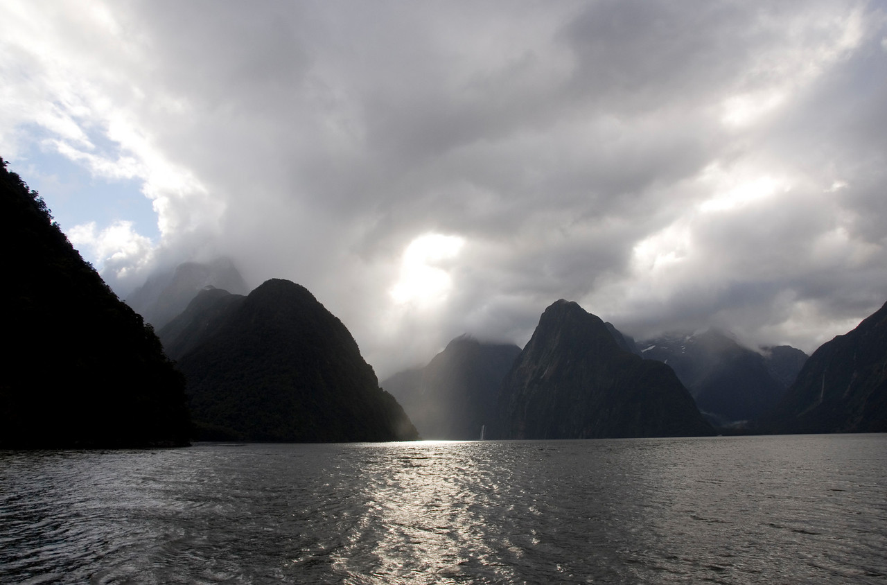 Milford Sound from boat