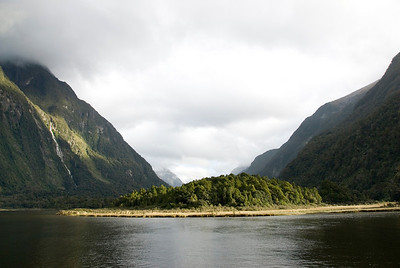 Sand Bar - Milford Sound, NZ