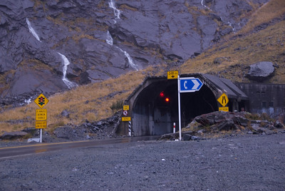 tunnel - Milford Sound, NZ