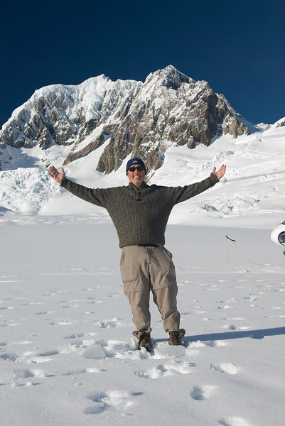 Me atop Franz Joseph Glacier, New Zealand