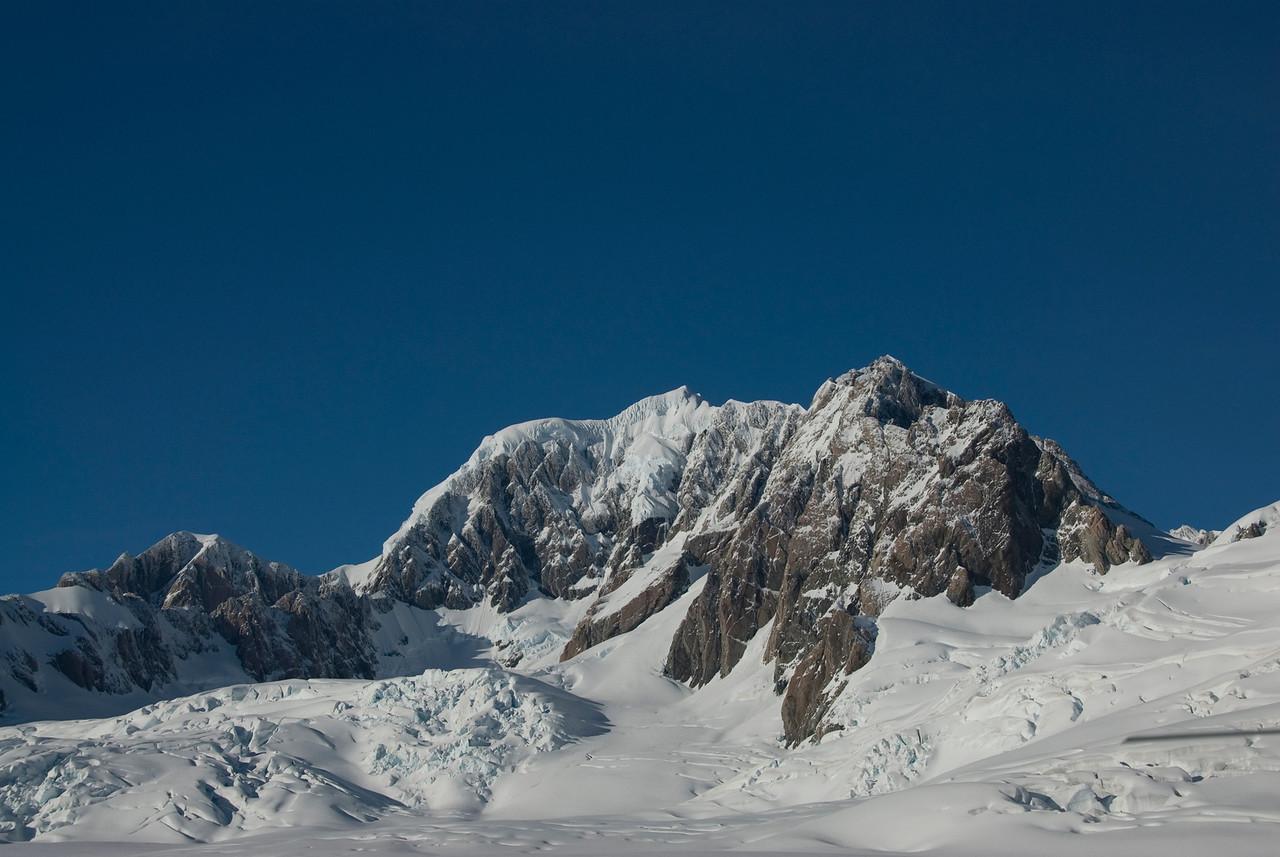 Atop Franz Joseph Glacier