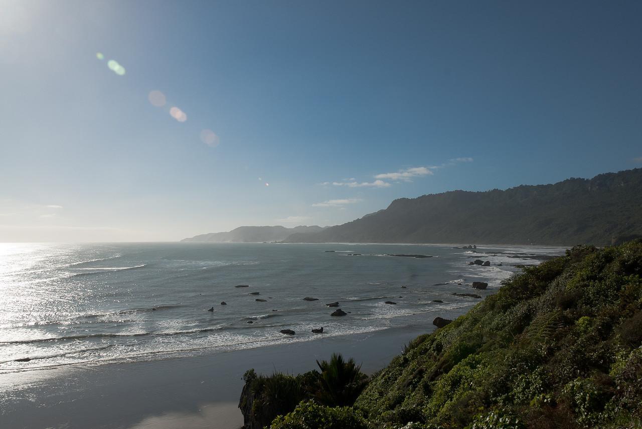 Seascape in New Zealand