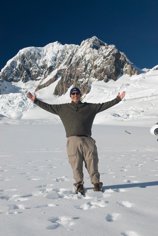 gary on glacier