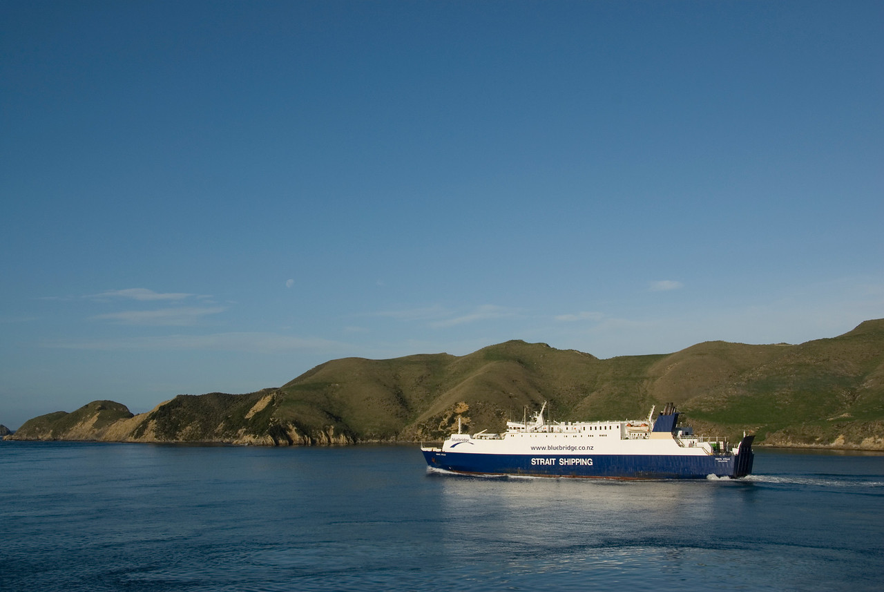 Bluebridge Ferry, Cook Straight