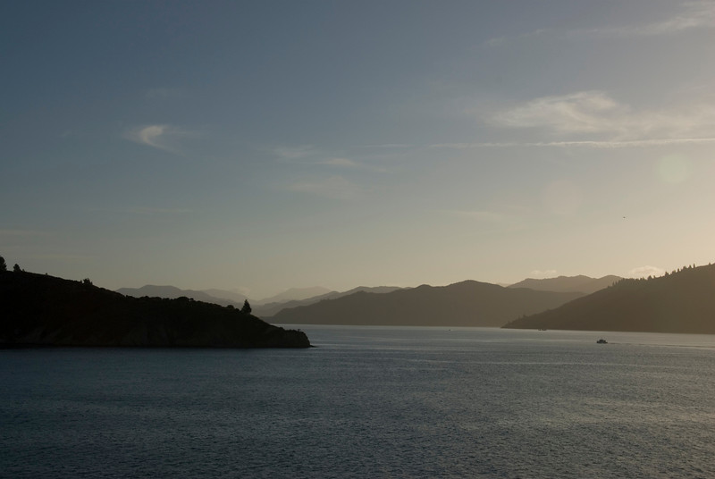 Sunset on Queen Charolette Sound