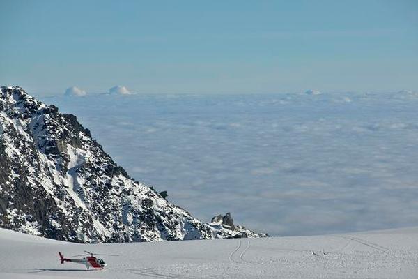 On Franz Joseph Glacier - New Zealand