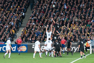 2011 Rugby World Cup Final in New Zealand