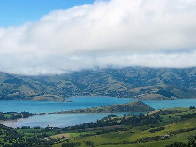 South Island - Akaroa Harbor