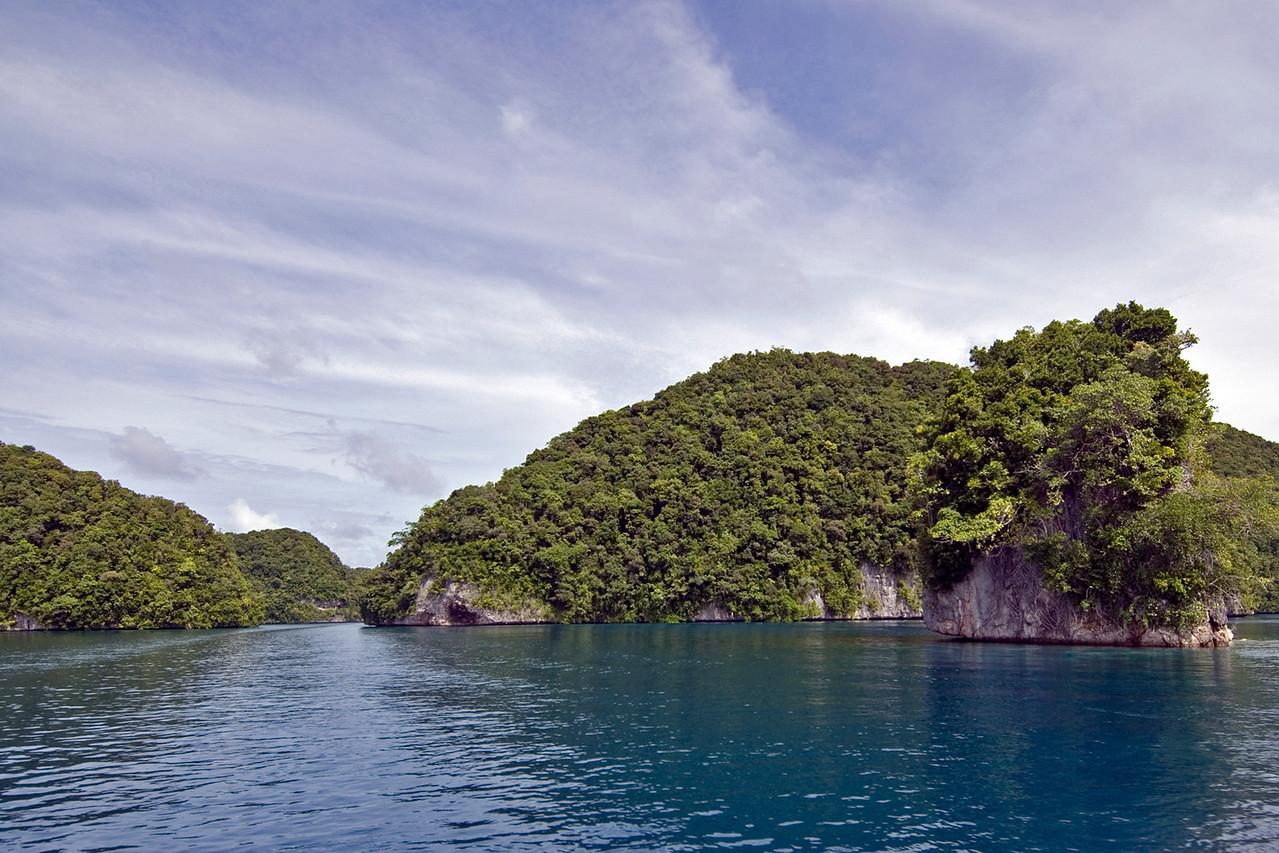 Rock Island Channel 3 - Palau