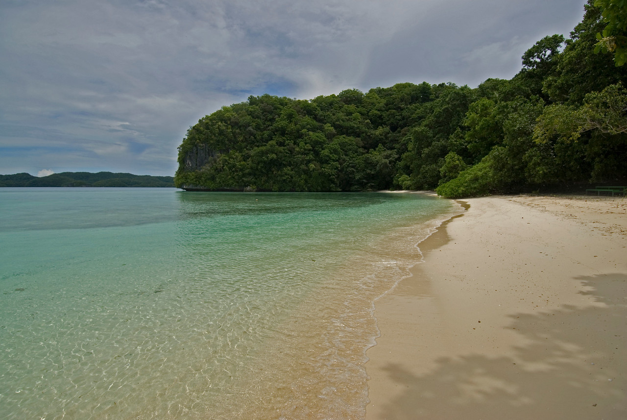 Rock Island Beach - Palau