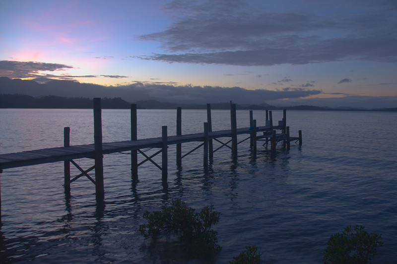 Dock at Sunrise 1 - Port Moresby, Papua New Guinea
