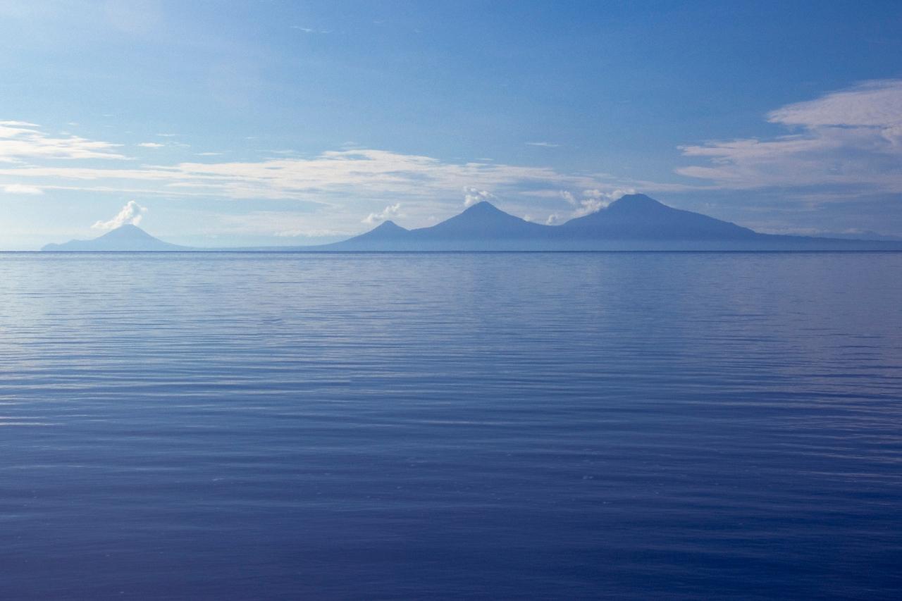 Volcanoes at Kimbe Bay - New Britain, Papua New Guinea