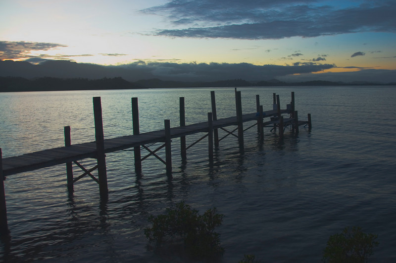 Dock at Sunrise 2 - Port Moresby, Papua New Guinea