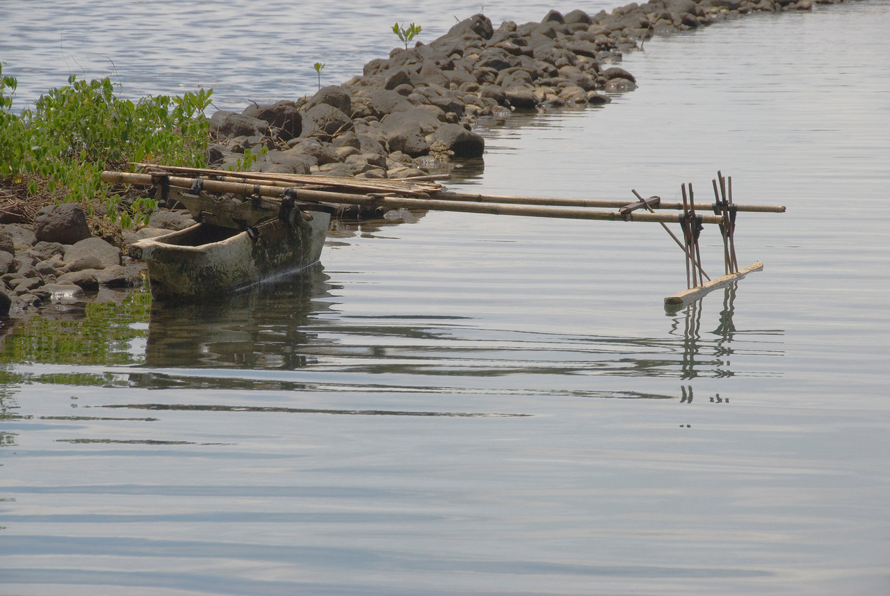 Outrigger Canoe - West New Britain, Papua New Guinea