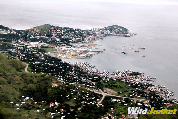 Port Moresby from the air