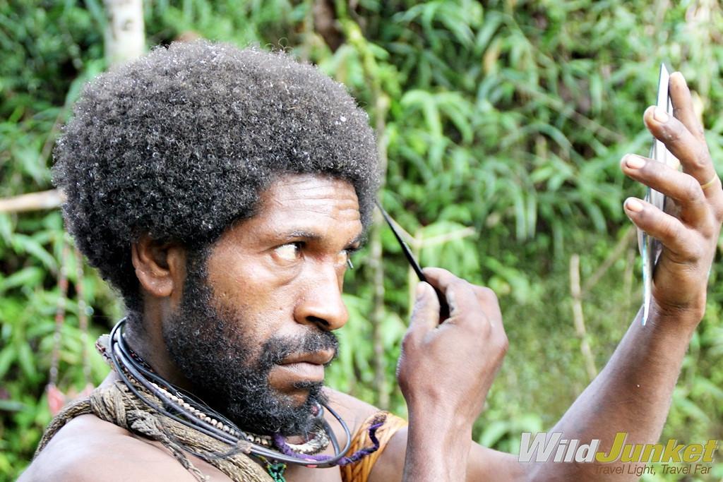 Tribal Culture in Papua New Guinea: the Huli Wigmen of Tari Highlands