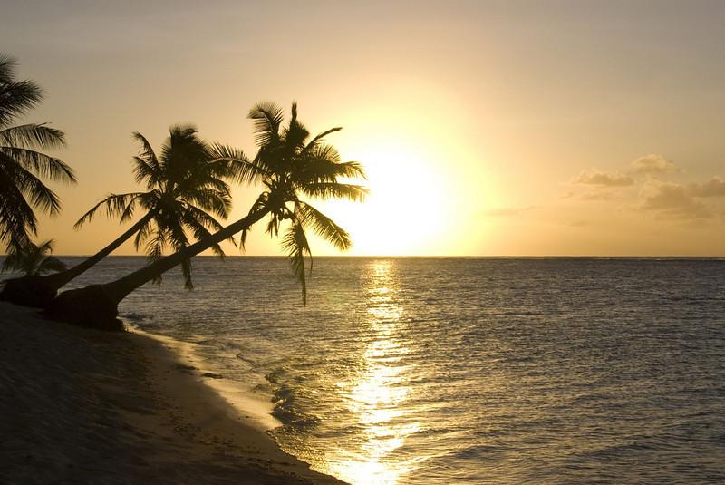 8th favorite beach in the world: Manase Beach in Savai'i, Samoa