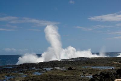 Blowhole Savai'i, Samoa