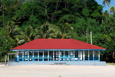 Large Fale in Manase Village Savai'i, Samoa