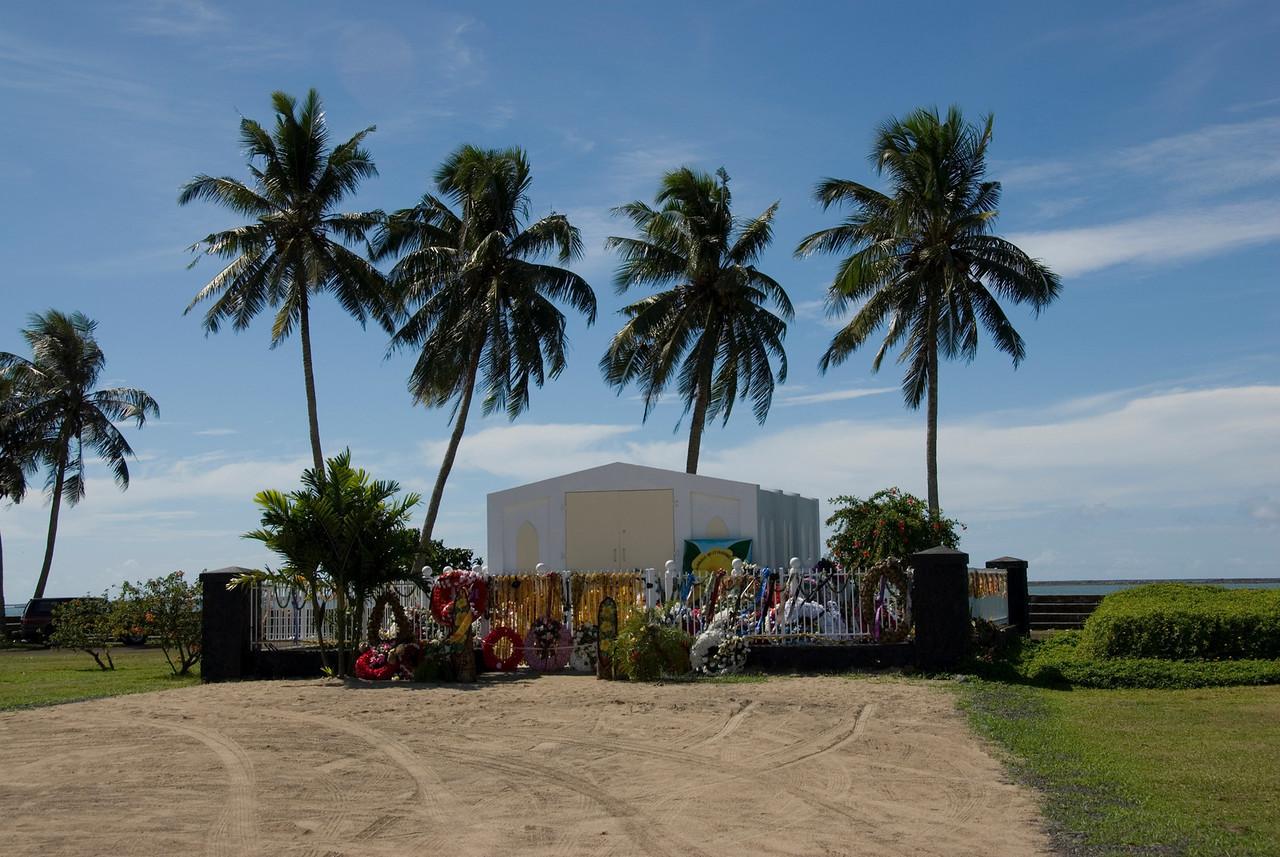 Tomb of King Malietoa II of Samoa