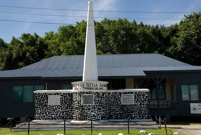 Western Samoa Independence Monument