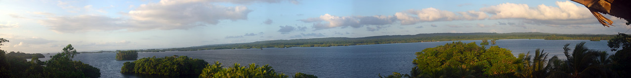 East Rennell Panorama - Solomon Islands