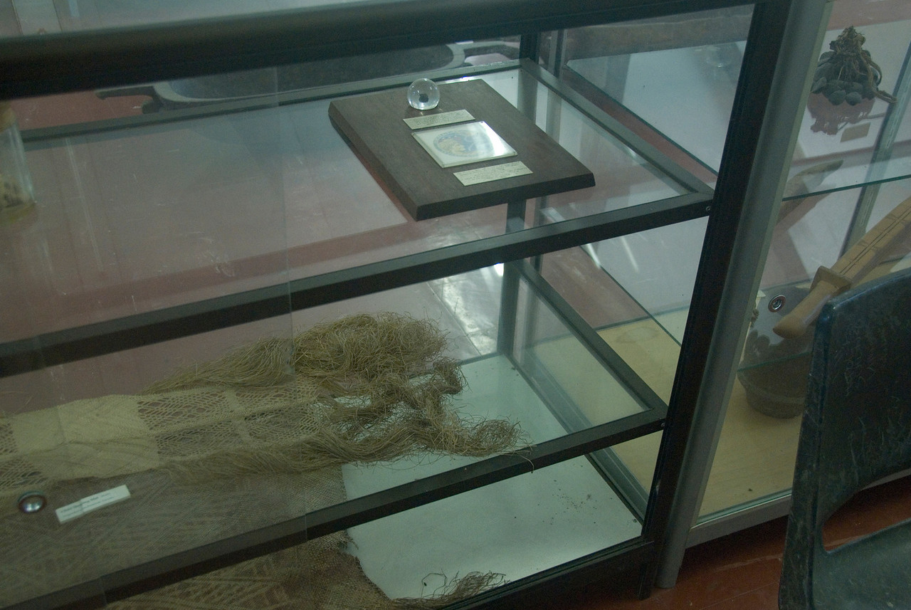 Moon Rock in Open Display Case - Solomon Islands