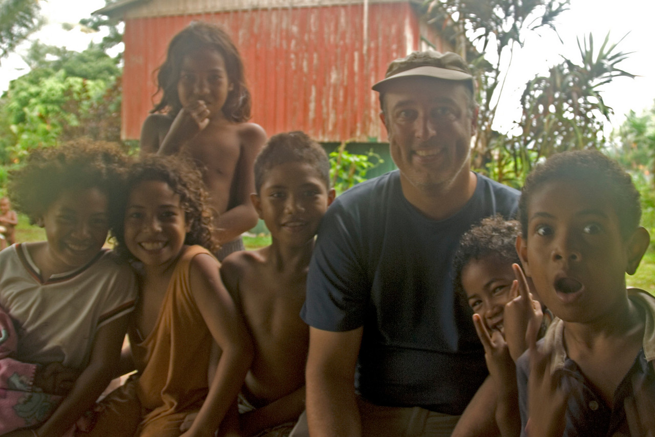 Me and Kids - Rennell Island