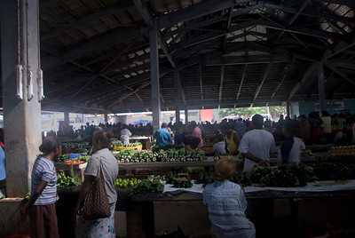Honiara Market - Solomon Islands