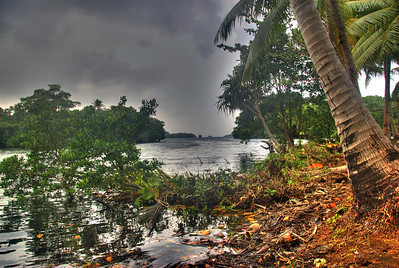 Lake Tenago Overcast HDR, Rennell Island - Solomon Islands