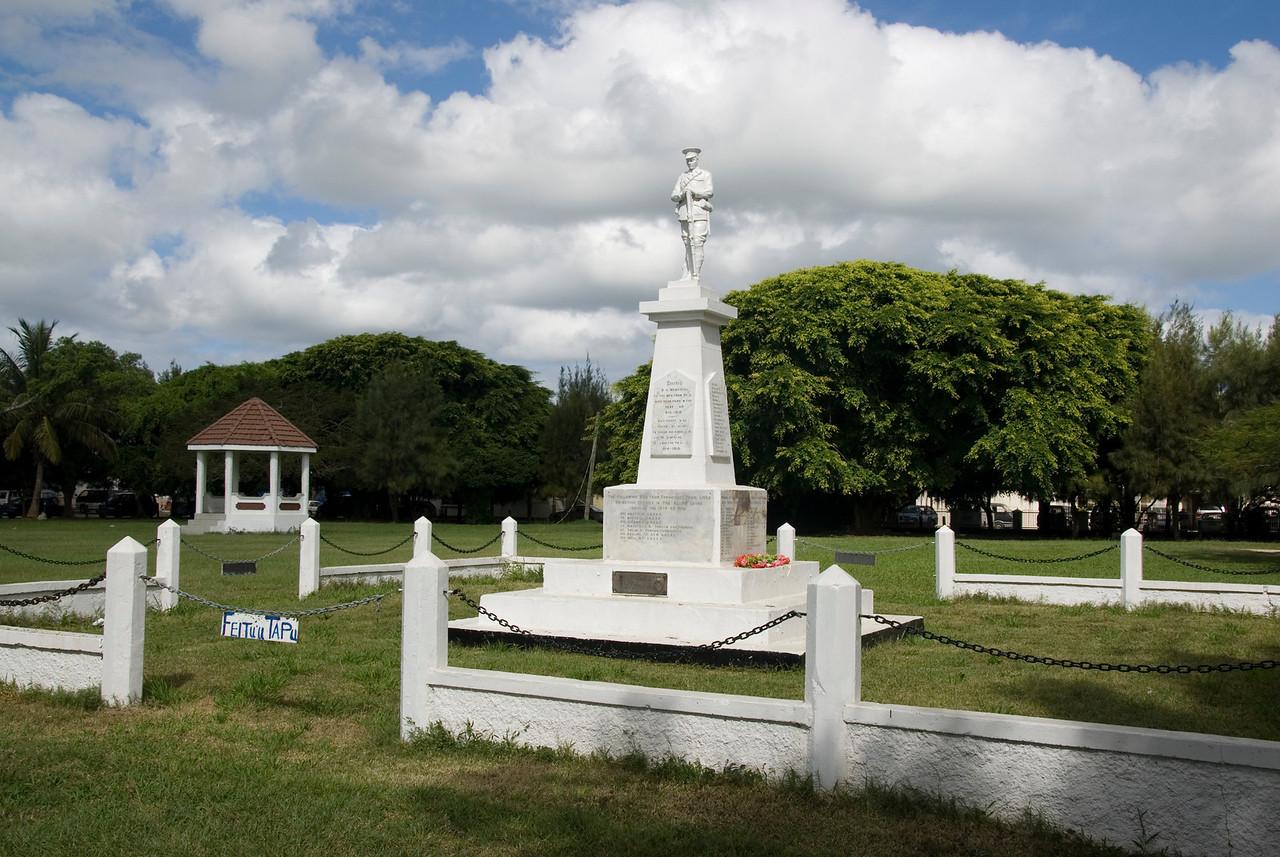 Tonga WWI Memorial