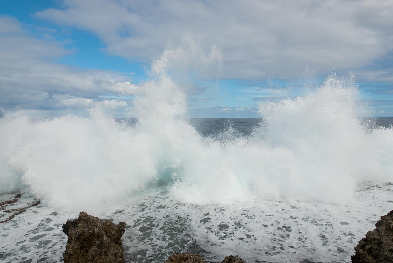 Blowhole in Tonga