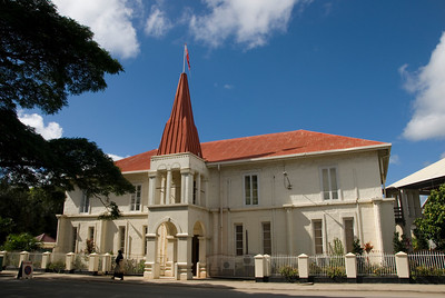 Tonga Parliment Building