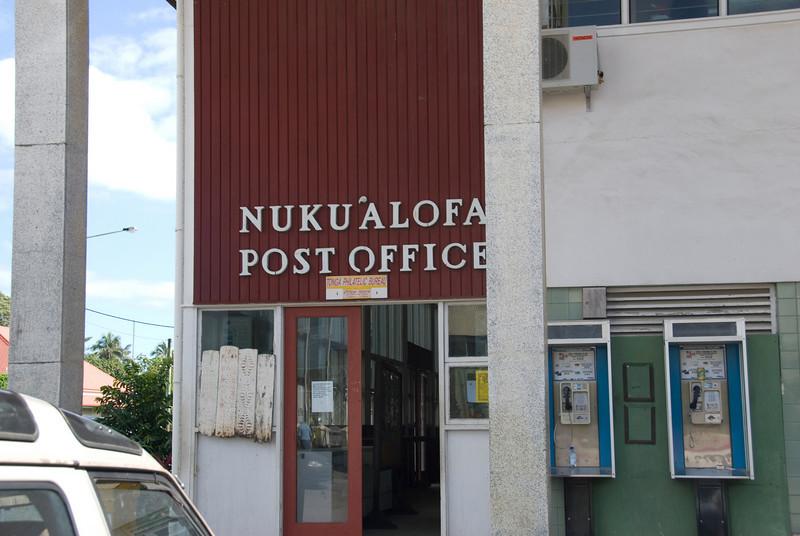 Nuku'alofa Post office, Tonga
