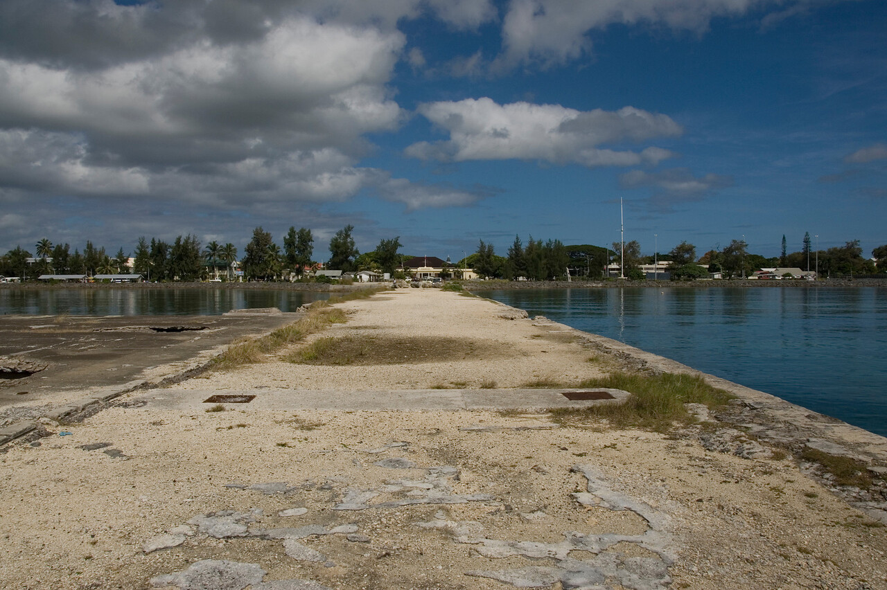 Abandoned Pier Nuku'alofa, Tonga
