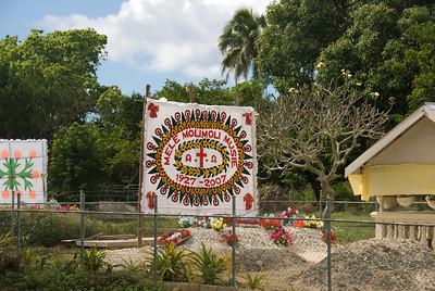 Tongan Grave