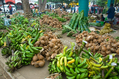 Crops at market - Vanuatu