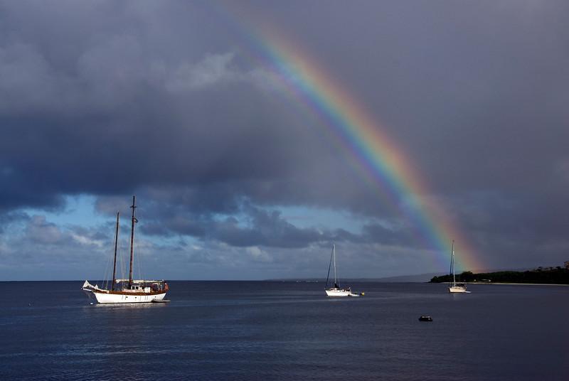 Rainbow in Port Vila - Vanuatu