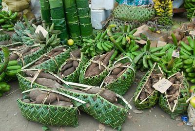 Taro at Market - Vanuatu