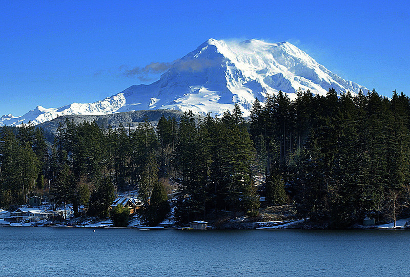 Photo By Bob Bobdnar..........................MT. Rainier