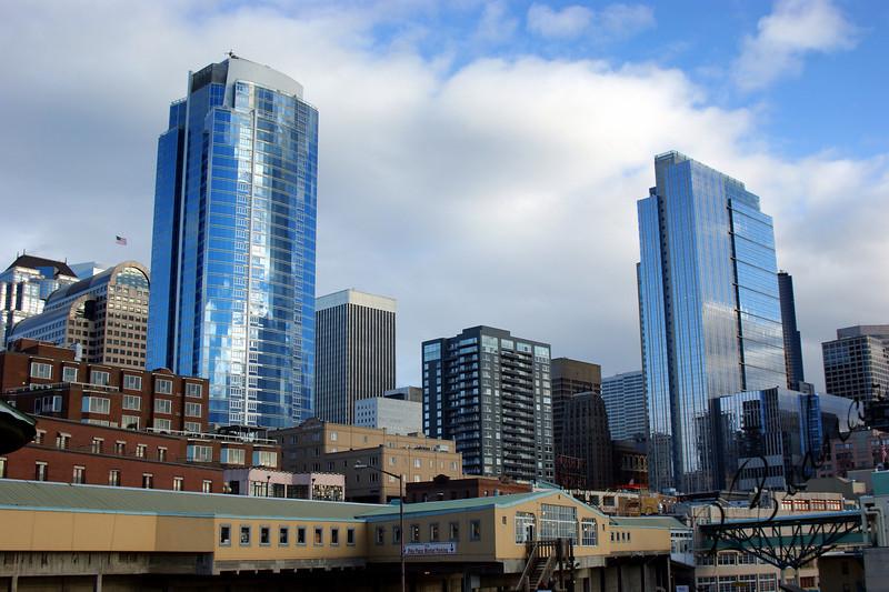 Photo By Bob Bodnar......................Seattle's  Tall Landscape