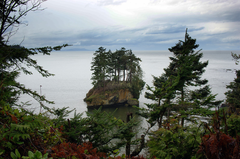 Photo By Bob Bodnar.....View of Crescent Bay from Camp Hayden Area By Tongue point & Salt Creek County Park