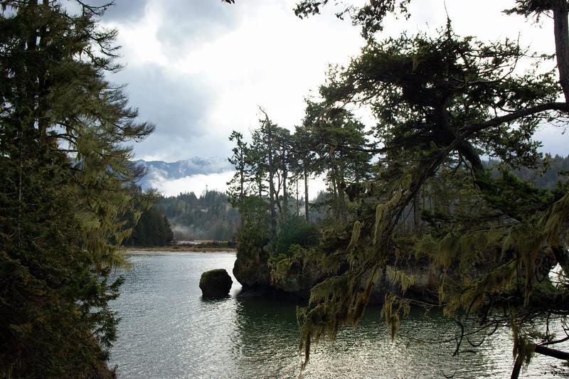 Photo By Bob Bodnar.............Crescent Bay By Tongue Point WA. & Salt Creek County Park