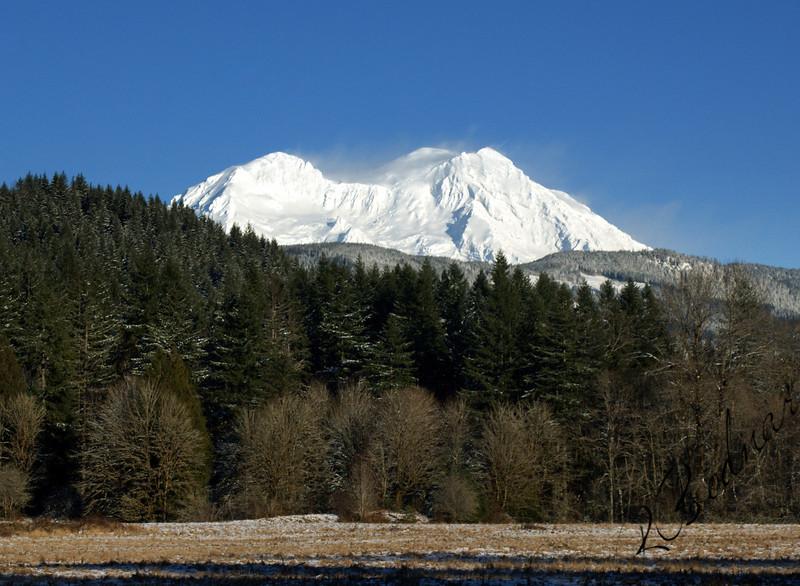 Photo By Bob Bodnar................................MT. Rainier